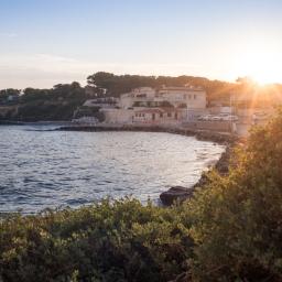 Côte d'Azur near Marseille