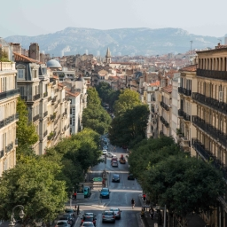Marseille Cityscapes – France