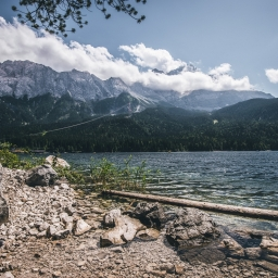 Eibsee at summer